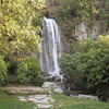 Waterfall in Bayfront Park in Petoskey, along Little Traverse Bay.